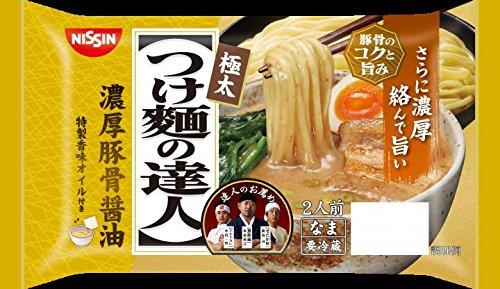 日清食品 つけ麺の達人 濃厚豚骨醤油 260gx6【冷蔵商品】