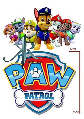 Paw patrol Tortenaufleger,Geburtstag,Tortendeko,