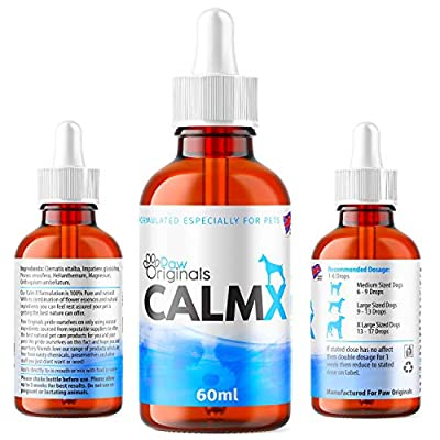 Calming Aid For Dogs, Cats, Kittens, Puppy & Animals - 100% Natural Supplement - New Fast Acting Formula - Aids Anxiety, Stress, Aggression & Loud Noises, Fireworks, Mood & Behaviour