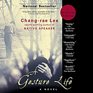 A Gesture Life audiobook cover art