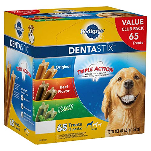 Pedigree Dentastix 65 Piece Variety Pack, 3.5 Pound