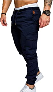 Men's Outdoor Working Pants Jogger Cargo Pants Chino Casual Trouser