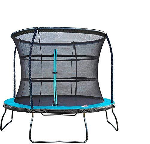 Con red, trampolín, trampolín de entretenimiento con escalera, trampolín de jardín,305Zentimeter
