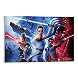 SSKJTC Póster de la película Star Wars The Rise of Skywalker para decoración de pared, 30 x 45 cm