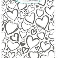 Love background Transparent Clear Silicone Stamp/Seal for DIY scrapbooking/photo album Decorative clear stamp sheets ST0390