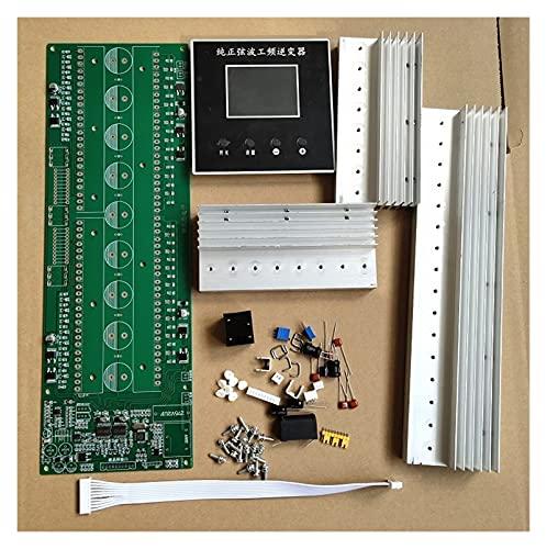 PUGONGYING Popular Frequenza di Potere Inverter Onda sinusoidale PCB. Set LCD. Visualizzazione della Scheda Madre (No Mos Tubi Include) Durable (Color : 24 Tubes)