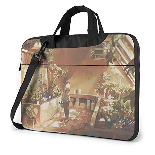 Greenhouse 13 Inch Satchel Tablet Bussiness Carrying Handbag14 Inch Laptop Sleeve 15.6 Inch Briefcase Shoulder Messenger Bag Commuter Laptop Bag