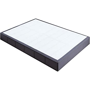 TATAGO 3000lbs Max Weight Capacity 9 Inch Heavy Duty Metal Box Spring Mattress Foundation, Extra-Strong Support & Non-Slip, No Noise, Easy Assembly, Full