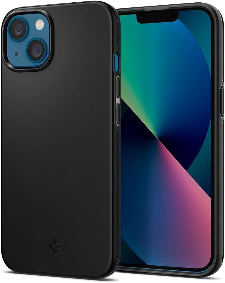 Spigen Thin Fit Designed for iPhone 13 Mini Case (2021) - Black