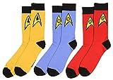 Bioworld Star Trek La série originale Chaussettes de l'équipe adultes uniforme