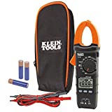 Klein Tools CL110 AC / DC Digital Clamp Meter, Tests AC Current Via Clamp and AC / DC Voltage, Resistance and Continuity Via Test Leads