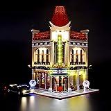 Briksmax Kit di Illuminazione a Led Per Creator Expert Palazzo del Cinema, Compatibile con il Modello Lego 10232 Mattoncini da Costruzioni - Non Include il Set Lego