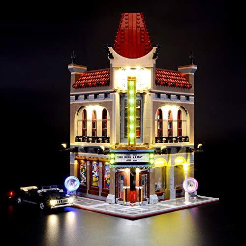 Briksmax Led Beleuchtungsset für Creator Palace Cinema, Kompatibel Mit Lego 10232 Bausteinen Modell - Ohne Lego Set