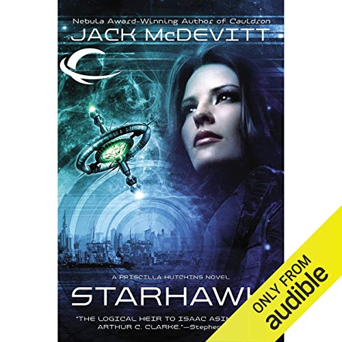 Starhawk audiobook cover art