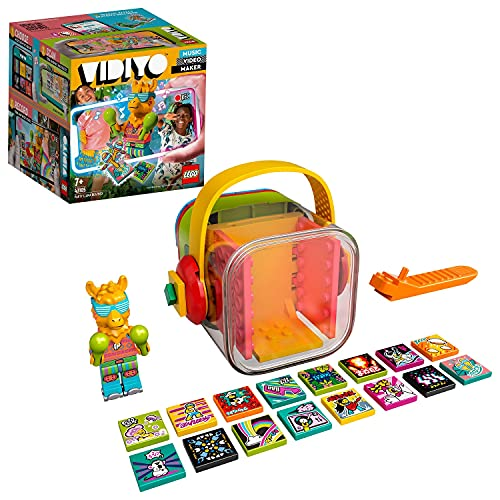 LEGO VIDIYO Party Llama BeatBox Creatore Video Musicali con Lama, Giocattoli per Bambini, App Realtà Aumentata, 43105