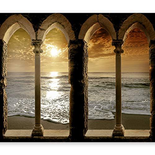 murando Papier peint intissé 300x210 cm Décoration Murale XXL Poster Tableaux Muraux Tapisserie Photo Trompe l'oeil architecture 10110904-27