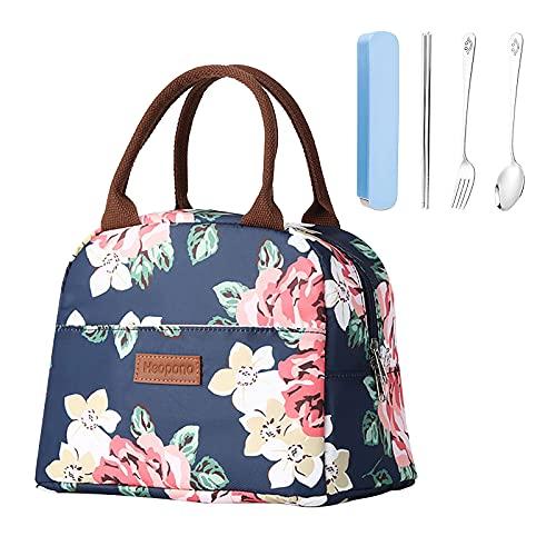 Borsa Termica per il pranzo da donna,Borsa Tote Lunch Bag Piccola Borsa Termica Porta Pranzo Borsa...