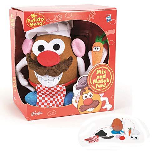 Señor Patata (Mr. Potato) de Peluche 9'84'/25cm 3 Modelos Calidad Soft -Hasbro- (Cocinero)