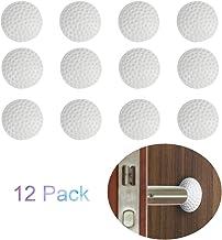 Vosarea 4 PZ Fermaporte Adesivi Tampone Autoadesivo Anticollisione Protezione per Mobili Parete Finestre Maniglie Porta Vetro