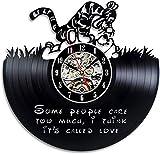 TIANZly Winnie The Pooh Schallplatten-Wanduhr - de