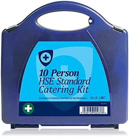 Blue Opening large release sale Dot Catering First Dedication Aid Eclipse Small Kit Box