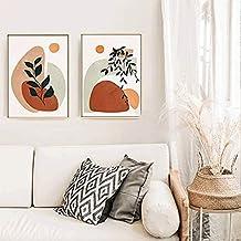 HEZHANG Nowoczesny abstrakcyjny salon dekoracja mural sypialnia przy łóżku wiszący obraz ganek dekoracja malowanie, a