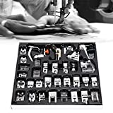 Kit de prensatelas de materiales metálicos de alta calidad, máquina de coser, excelente mano de obra, para el hogar