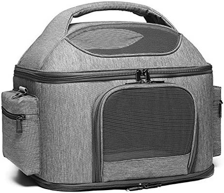 halinfer Pet Carrier for Large Cats and Small Dog Fits up to 25 pounds Fat Cat Carrier Collapsible product image