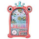 QJJ Diversión Infantil Máquina de Pinball de niños Puzzle Infantil Beading Fun Toys Padre-niño Interactivo Tabla Juegos Cumpleaños Cumpleaños Regalos (Color : Pink)