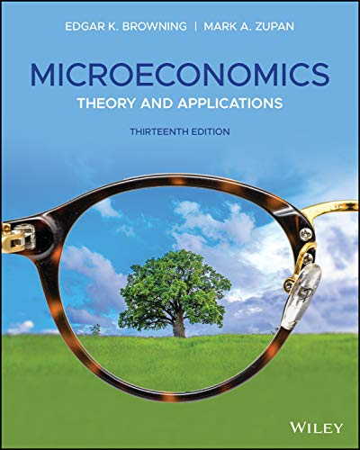 Microeconomics: Theory and Applications, 13th Edition