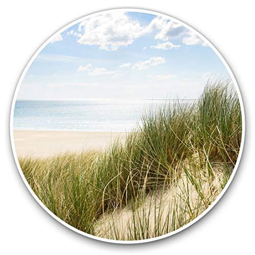 Impresionantes pegatinas de vinilo (juego de 2) 7,5 cm – Bonitas calcomanías de playa y duna de viaje para portátiles, tabletas, equipaje, reserva de chatarra, neveras, regalo genial #8387