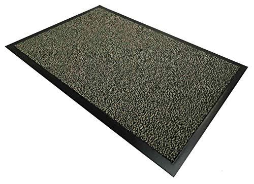 CASA TESSILE Nevada Zerbino Tappeto asciugapassi - Beige, 40x70 cm.