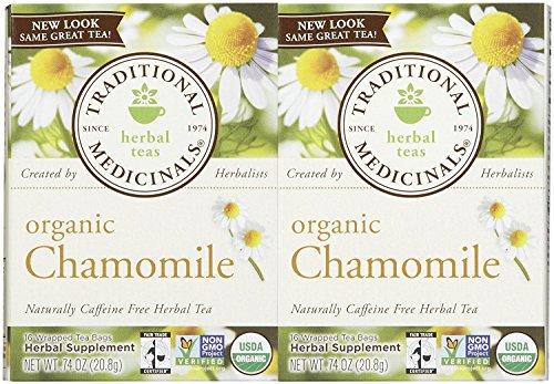 Traditional Medicinals Organic Chamomile Herbal Tea - 2 pk
