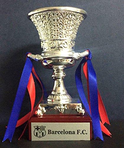 Trofeo SuperCopa 2018 FC Barcelona Replica 15cm Grabado Trofeos Personalizados Trofeos Deportivos Futbol coleccionistas Titulos FC Barcelona