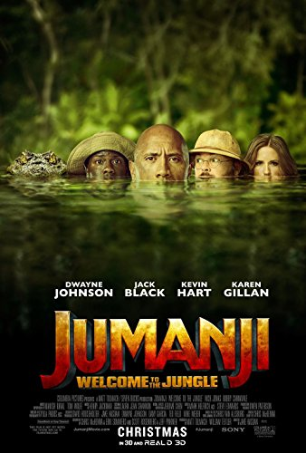 Poster Jumanji Welcome To The Jungle Movie 70 X 45 cm