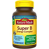 Nature Made Super B Energy Complex Softgels, 60 Count for Metabolic Health