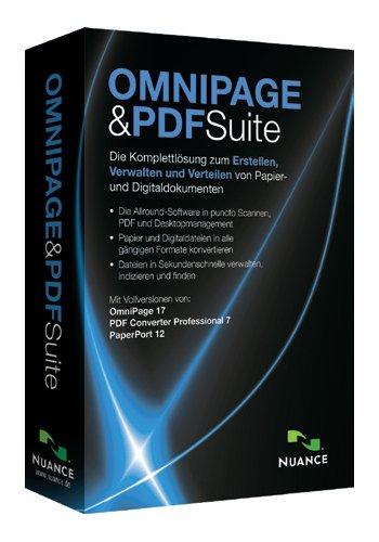 OmniPage 17 Standard & PDF Converter Professional 7 & Paperport 12 Standard Suite