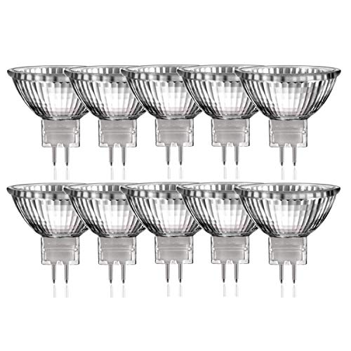 10 x Halogen Reflektor Glühbirne MR16 GU5,3 50W dimmbar warmweiss |Luminizer3320