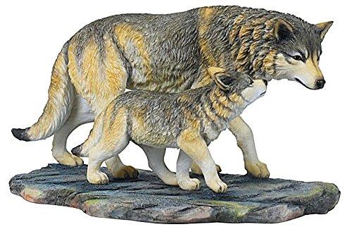 Dekofigur Wolf Wölfe