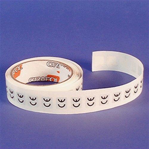 Sticker CE-markering, polyesterfolie, rol, 1,3 x 1,5 cm