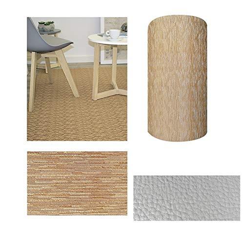 Comercial Candela Alfombra de Pasillo de Textil Resinado Antimanchas, Lavable | Base...