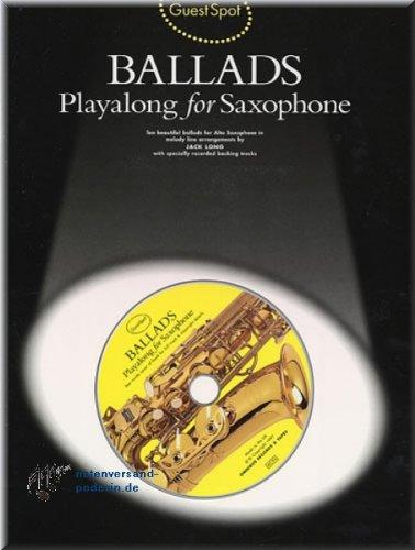 Ballads - Playalong for Saxophone - Altsaxophon Noten [Musiknoten]