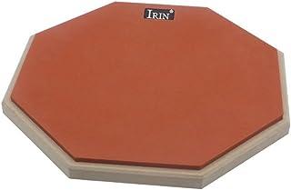 Baosity 耐久性 ラバー ダムドラム サイレント 練習パッド マットプレート ドラマー ギフト 全4色 - オレンジ