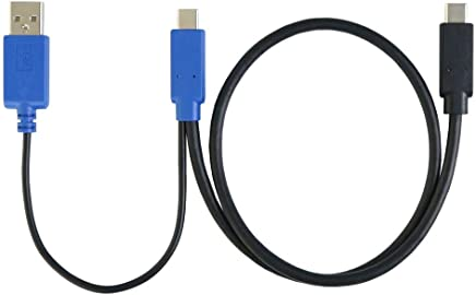 USB Type-C Video and Independent Power Y-Cable (0.5m)