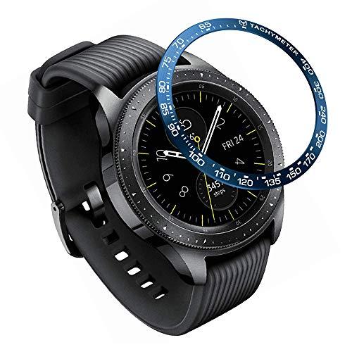 YSSNH Bisel Compatible para Samsung Galaxy Watch 42mm Anillo de Bisel de Acero Inoxidable Anillo de Protección Antiarañazos para Galaxy Watch 42mm / Galaxy Gear Sport