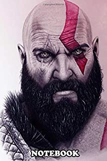 Notebook: Illustration Of Kratos , Journal for Writing, College Ruled Size 6