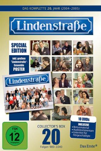 Lindenstraße - Das komplette 20. Jahr (Special Edition mit Poster) (10 DVDs)
