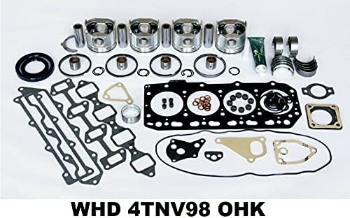 WHD Engine OFFicial mail Max 55% OFF order Overhaul Kit Excavator ZX60USB-3 HITACHI fits