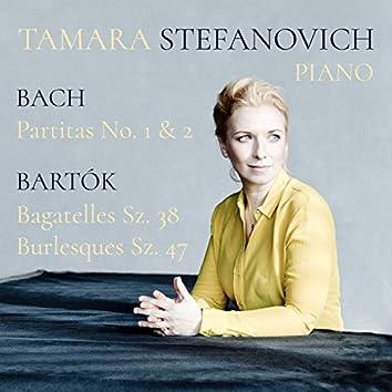 Bach: Partitas No. 1 & 2 & Bartók: Bagatelles, Sz. 38 and Burlesques, Sz. 47