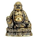 Estatua Buda Maitreya sonriente símbolo de fortuna, higa y Gioia Innocente Ridente